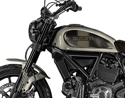 Concurso Ducati Scrambler dos sonhos
