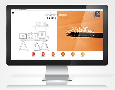 Website project melastudio.pl