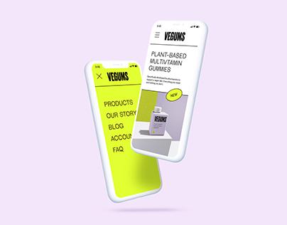 Vegums Re-brand | Multivitamin Gummies