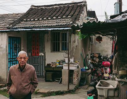 Alleys in Yangzhou, China