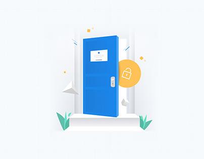 Illustrations for Opendoor
