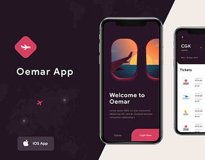 Oemar Flight UI App