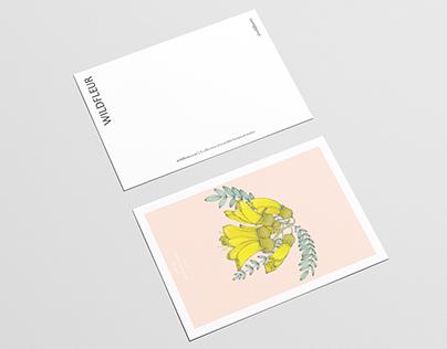 Wildfleur Botanical Postcards
