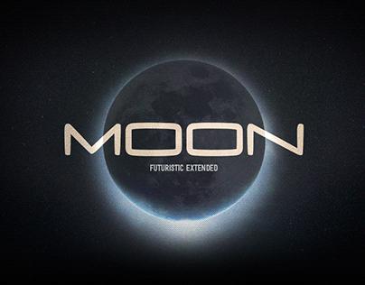 Moon Futuristic Font