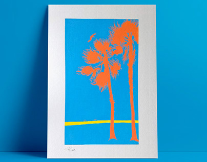 Poster Palm Trees