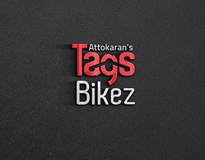 Attokaran's TagsBikez Logo Design