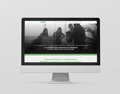 Web Ivax Asesores