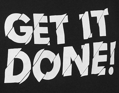 Black&White T-shirt Design for RESERVED | Pt. 3