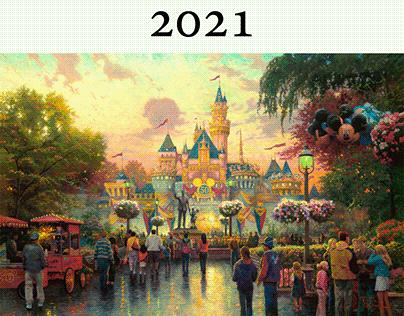 Disney Calendar 2021
