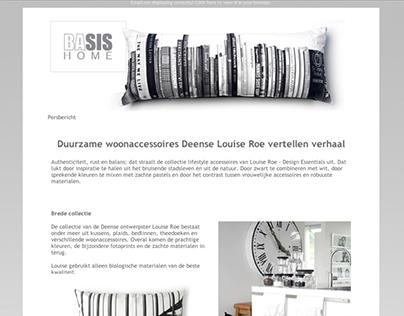 BaSIS Home News Release