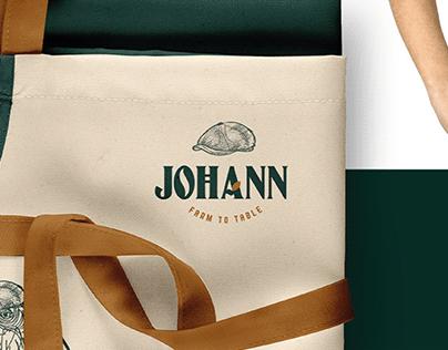 JOHANN - Farm to Table - Branding