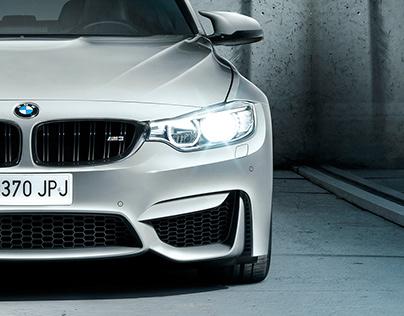 BMW M3 Berlina · Photography + Retouch + Mattepainting