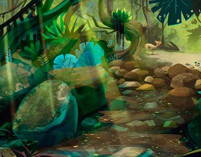 Lost in Trail #environmentdesign