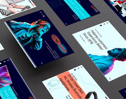 Richer Sounds Website Redesign - HND UX Design