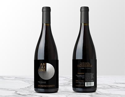Amarone Wine Label Design