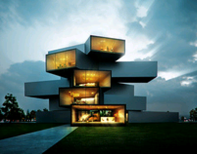 Modern House - A vision into the future.