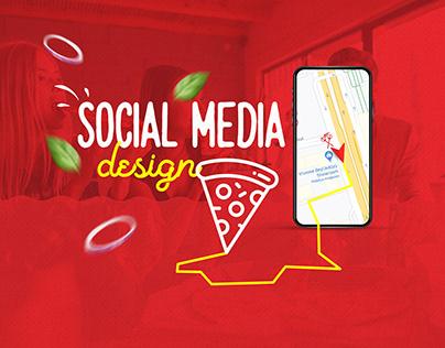 Devil's Hot Pizza Social Media Design - 2020