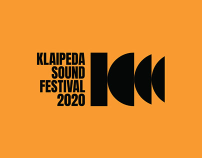 Visual identity for Klaipeda Sound Festival