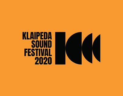 Visual identity for Klaipeda Sound Festival
