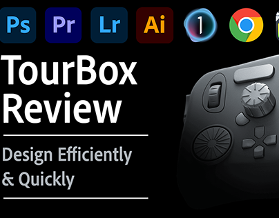 Design Efficiently & Quickly with TourBox Controller
