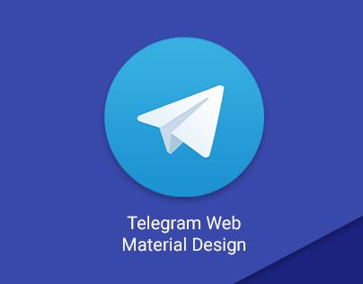 Telegram Web Material Design