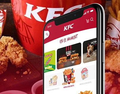 Redesign application KFC UX Design
