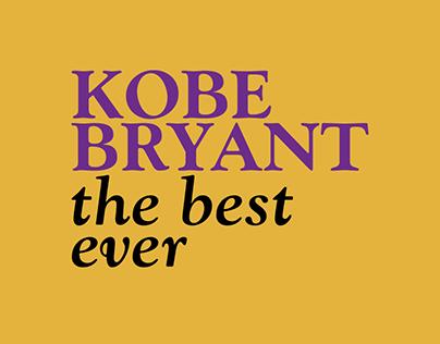Kobe Bryant - The best ever