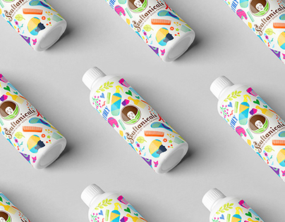 Soultanicals Packaging & illustration Design