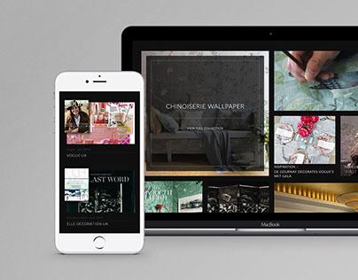 DeGournay • Website Design
