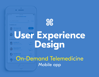 On-demand telemedicine mobile app