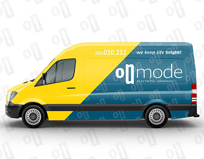 On Mode - Electrical Company - Branding Identity