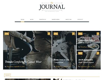 Wordpress - (Newspaper | Journal)