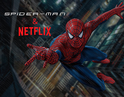 The first screen for the movie Spider-man