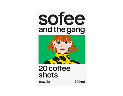 Sofee and the Gang – visual identity