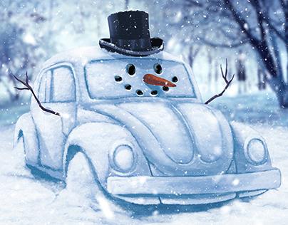 Volkswagen Illustrations