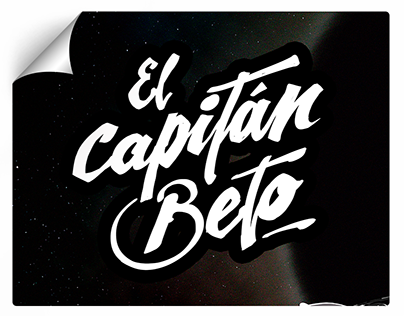 El Capitán Beto / Drawing and Lettering