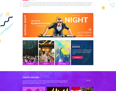 RHYDHM EVENT WEBPAGE