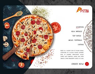 Online Shop For Pizza Order