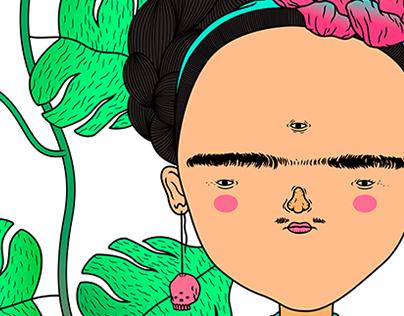 Frida Kahlo for Frida Cagliari