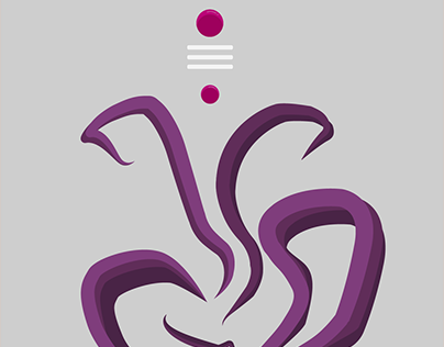 Lord Ganesh illustration