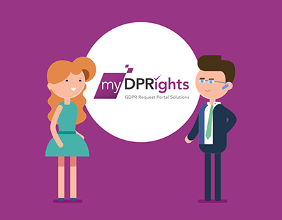 MyDPRights - Web platform Promotion - Motion Design