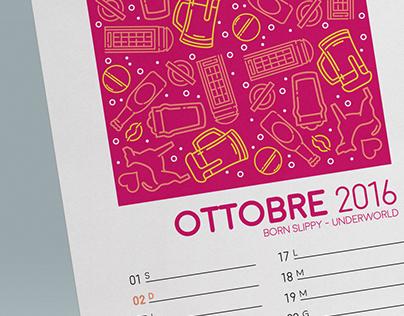 Personal Wall Calendar 2016