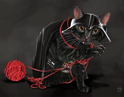 Darth Vader the Cat