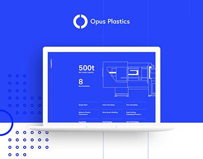 UI Design - Opus Plastics