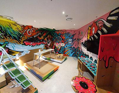 Vans Shoe Concept Room