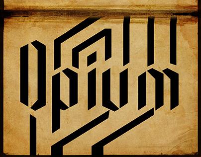 Opium Typeface
