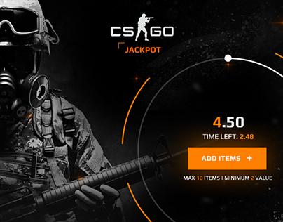 CSGO JACKPOT | Web Design