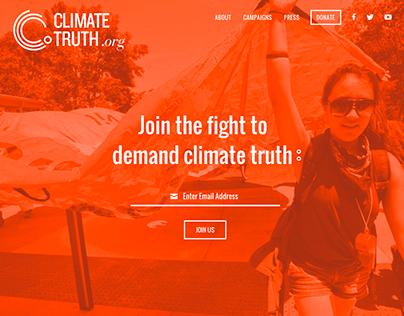 ClimateTruth.org Responsive Website Design