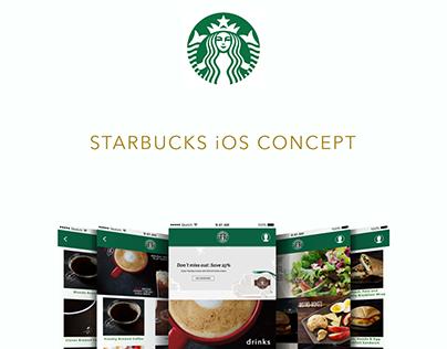 Starbucks iOS Concept