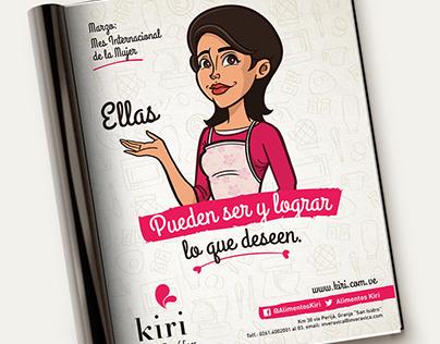 Kiri - International women's day